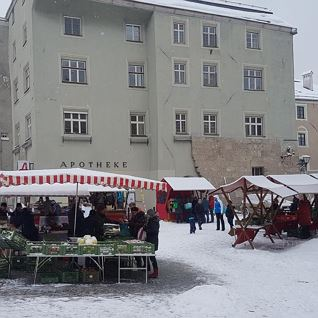 Haller Bauernmarkt Winter