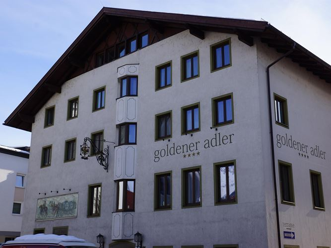 Hotel Goldener Adler, Winter