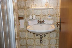 Triple room, shower, toilet, 1 bed room