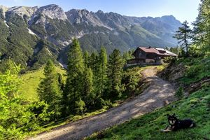 Via Alpina - Red trail - From the Inn valley to the north - Karwendel Alpine Park