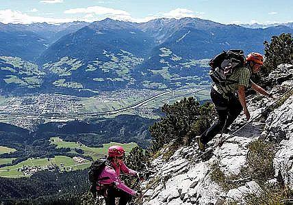 Klettersteig Austria : Klettersteige klettergärten klettern im karwendel und den tuxer