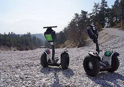 Segway fahren in der Region Hall-Wattens in Tirol